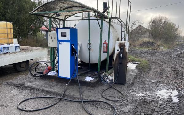 Üzemanyag kimérő
