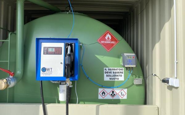 Gázolaj kimérő